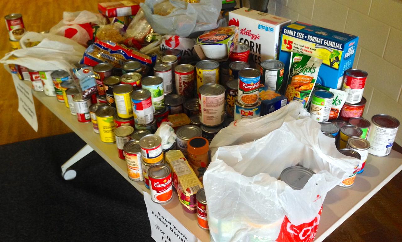 September Food Bank Friday