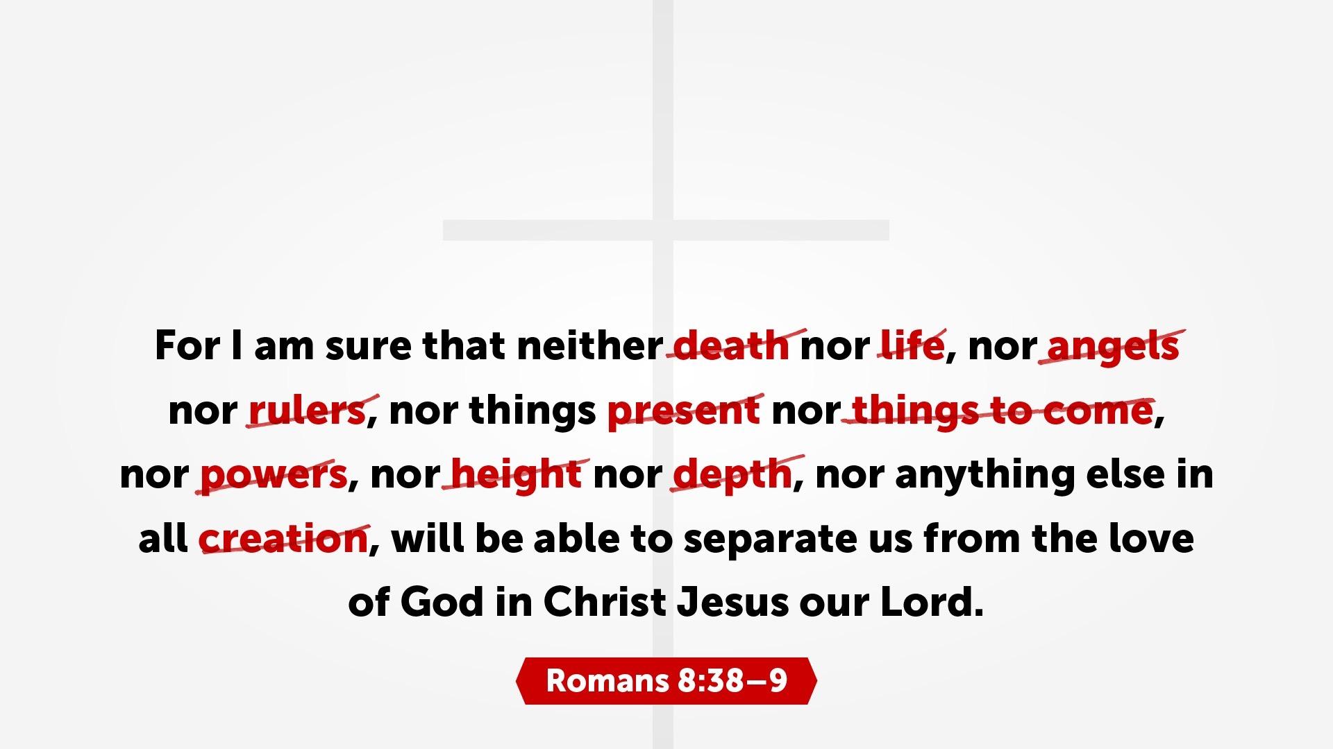Romans 8:38 Graphic