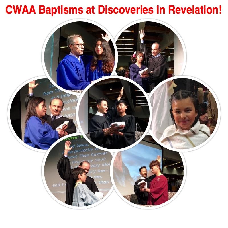 CWAA Baptisms