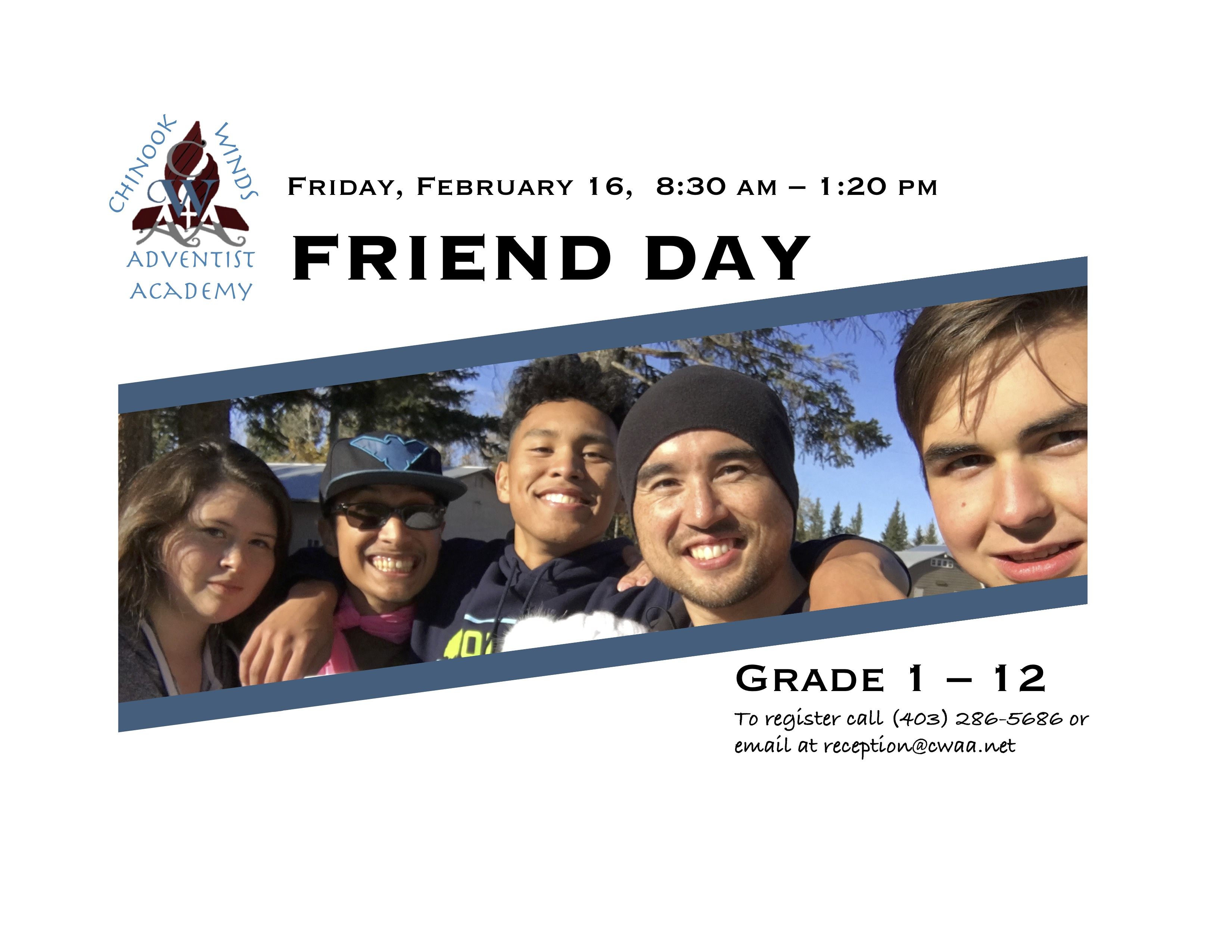Friend Day Ad - Secondary