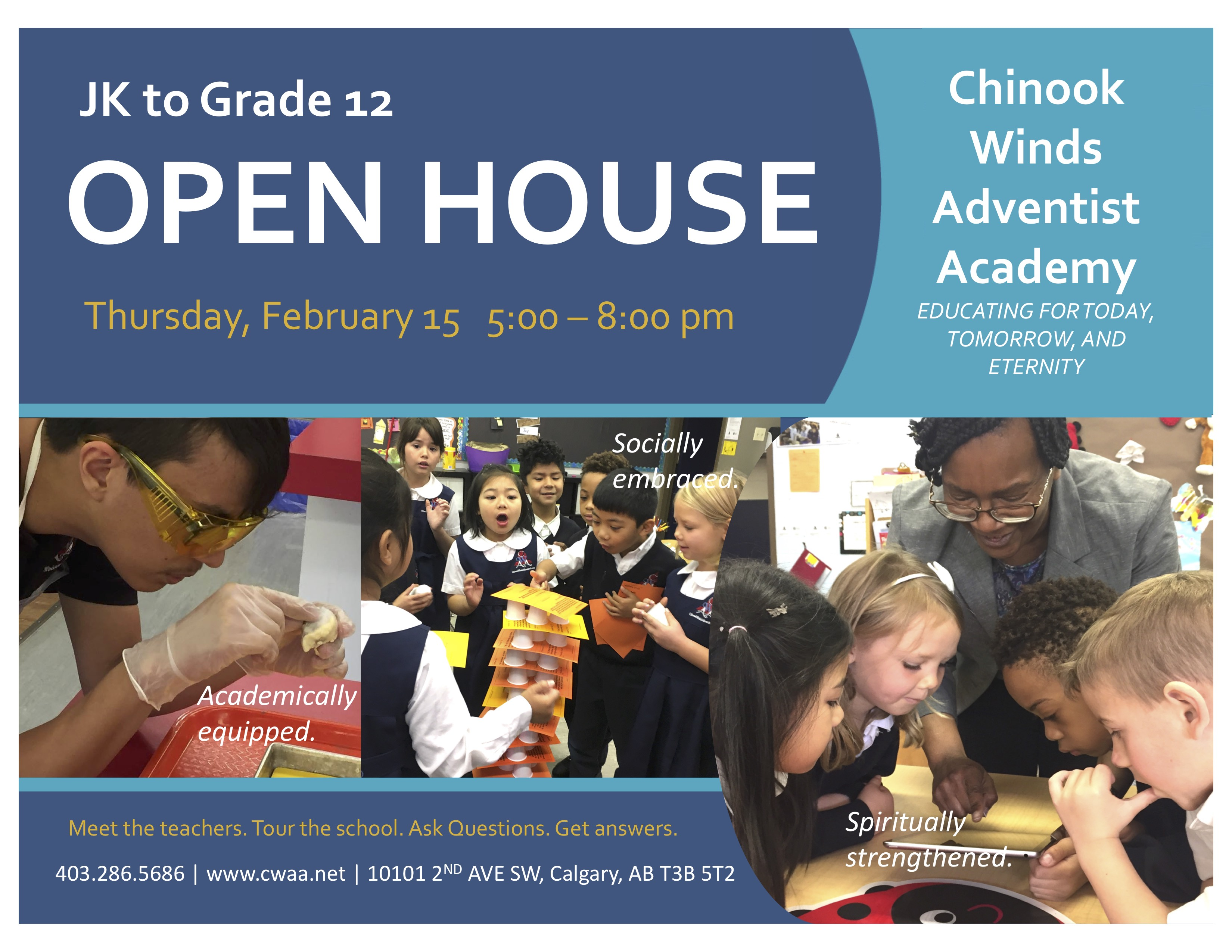 2018 Open House Ad