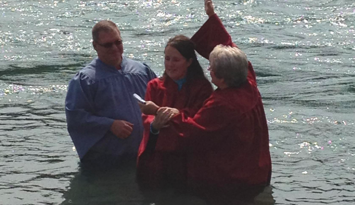 Shelda Fowler Baptism Photo