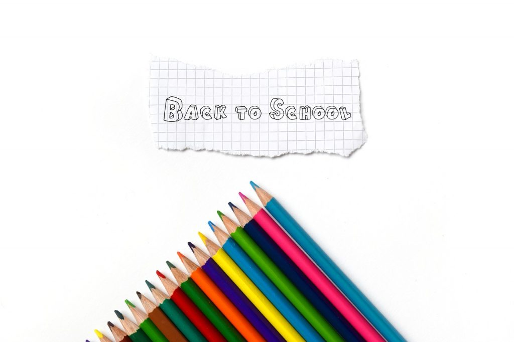 Back To School Coloured Pencils