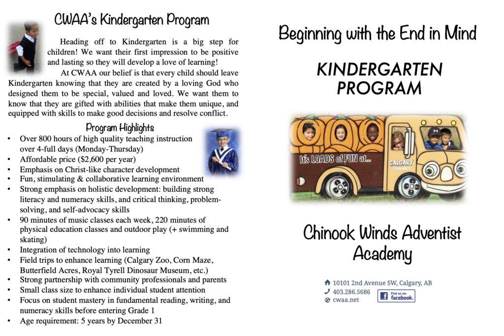 2020 Kindergarten